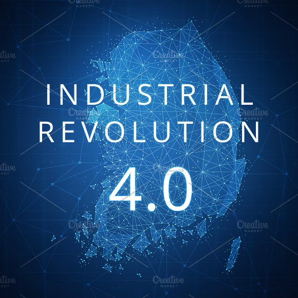 Fourth Industrial Revolution On Blockchain Polygon South Korea Map