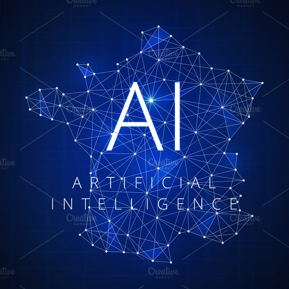 Blockchain Technology Artificial Intelligence Concept