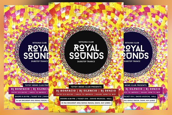 Royal Sounds Flyer