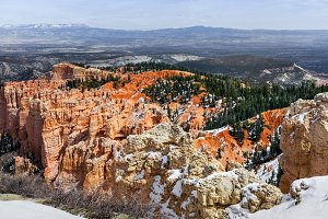 Bryce Canyon Erosion Formations