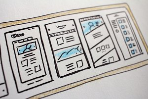 Hand Drawn Websites