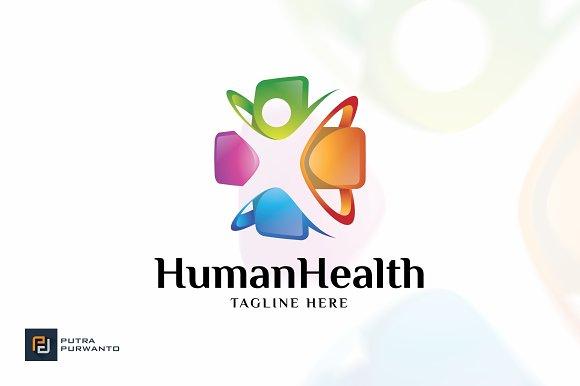 Human Health Medical Logo Templa