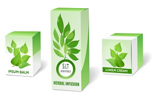 Herbal medicine packaging