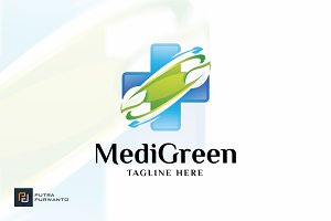 Medical Green - Logo Template