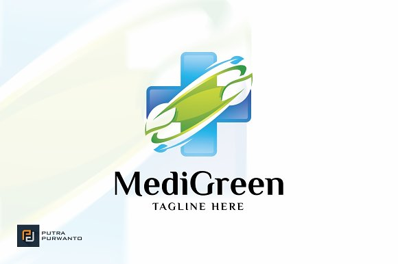 Medical Green Logo Template
