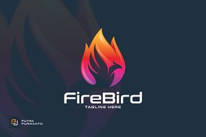Fire Bird / Phoenix - Logo Template