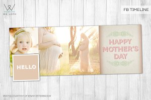Mother's day FB timeline cover