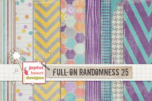 Full-On Randomness {twenty five}