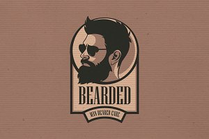 Beared Boy Logo