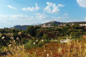 Calabria summer view