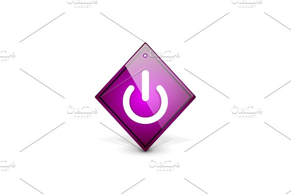 Start Power Button Ui Icon Design On Off Symbol