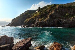 Cinque Terre sea coast, Italy