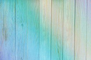 Wooden texture. Old blue texture of the wooden vertical panels a