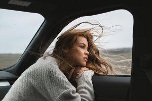 wonderful chilling girl travelling