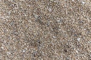Small rocky cover the sea coast