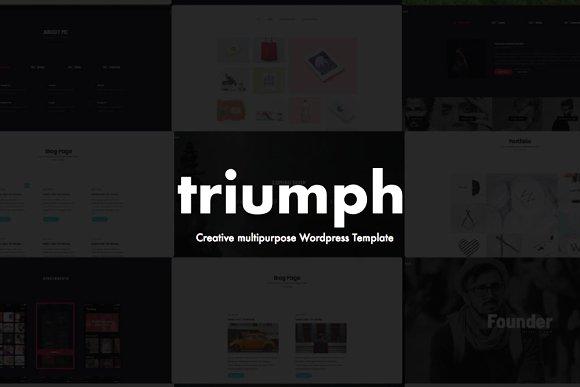 Triumph Creative WordPress Theme