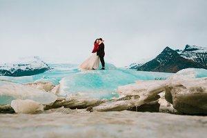 Iceland Wedding in Glacier Lagoon