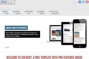 JSN Boot - Joomla Free Theme