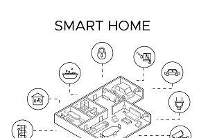 Smart Home Control System Concept