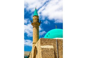 Sinan Basha Mosque in the old town of Acre