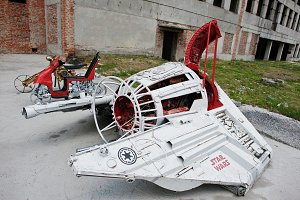 flying machine Star Wars
