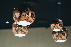Reflection on lights