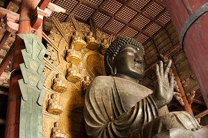 Buddha Bronze Statue