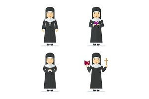 catholic nun character