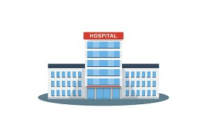 hospital building icon
