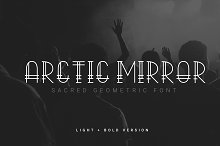 Arctic Mirror - Sacred Font