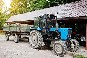 Blue Belarus 82.1 traktor