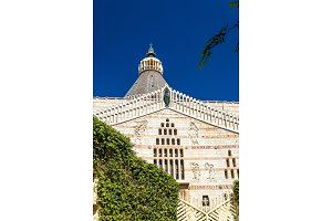 Basilica of the Annunciation, a Roman Catholic church in Nazareth