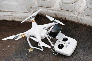 DJI Phantom IV Pro drone quadcopter