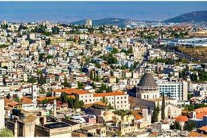 Nazareth with Basilica of Annunciation