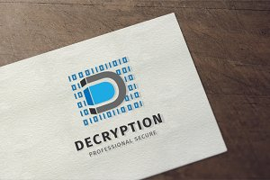 Decryption - Letter D Logo
