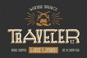 Traveler v.2 typeface
