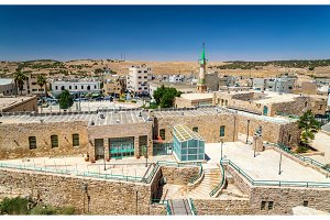 View of Al Karak city center from the castle