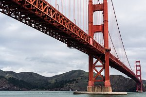 The Golden Gate Bridge in San Franci