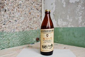 old Azerbaijan wine Agdam