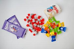 Different chocolates