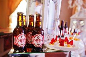 Sagres mini beer