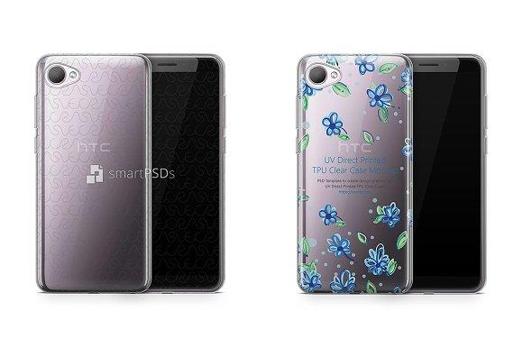 HTC Desire 12 UV TPU Clear Case