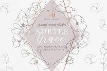 Graceful Floral Illustrations Bundle