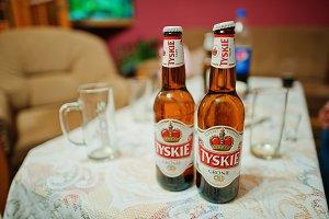 Tyskie beer