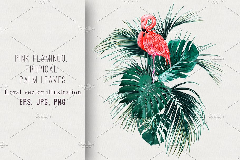Tropical exotic illustration in Illustrations - product preview 8