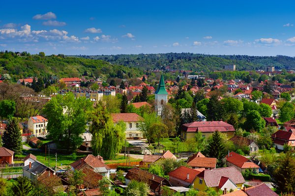 Architecture Stock Photos: Nature and travel - View to the Miskolc city