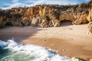Beautiful beach, Algarve