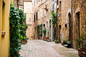 Alley in a Tuscan Village