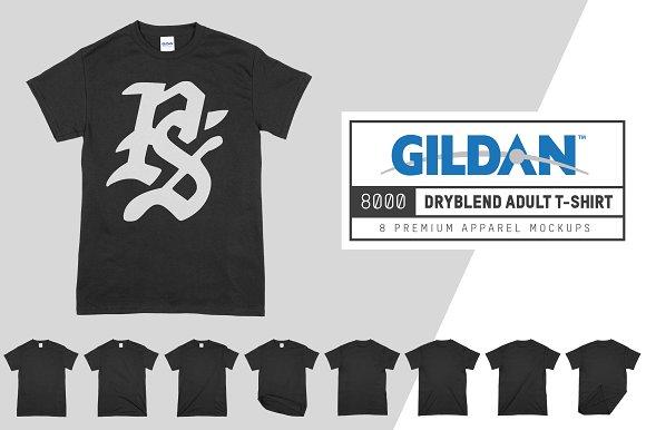 Free Gildan 8000 DryBlend Adult T-Shirt