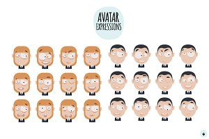 3 Avatar (12 different expressions)
